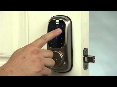 Yale Real Living Touchscreen Deadbolt - Master PIN Code Setting (4)