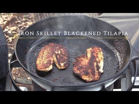Iron Skillet Blackened Tilapia | Ep 60