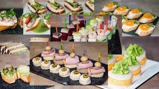 14 Рецептов Праздничных Бутербродов  Лучшие Канапе для Праздничного Стола  Ирина Кукинг