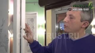 видео КАК ОТРЕГУЛИРОВАТЬ ПЛАСТИКОВУЮ ДВЕРЬ, скрипят, трутся? - zolotyeruki