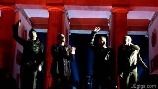 U2 Moment Of Surrender Berlin, Brandenburg Gate 2009-11-05 - U2gigs.com