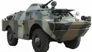 Украинская модернизация БРДМ2 - БРДМ 2ДИ «Хазар» (Ukrainian mod. BRDM2 - BRDM 2DI