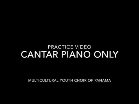 Cantar Piano Only