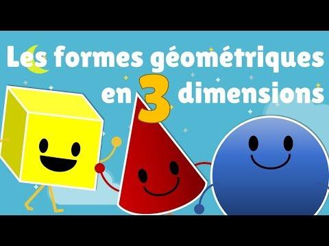 Formes géométriques en 3 dimensions