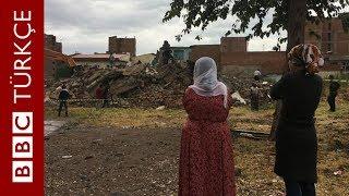 Diyarbakır Sur'da yıkım başladı, mahalleliler mağduriyetten şikayetçi - BBC TÜRKÇE