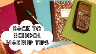 Back to School Makeup Tips & Product Recommendations! Thumbnail
