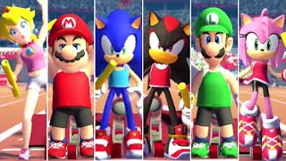 Mario & Sonic at the Olympic Games Tokyo 2020 - 4x100m Relay (All Characters)