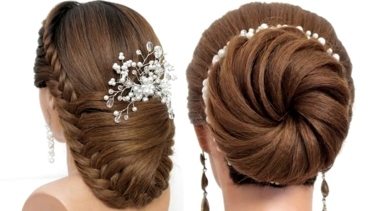 2 Braided Hairstyles. Easy Hairstyles For Girls With Medium & Long Hair. [ Hair Inspiration ]