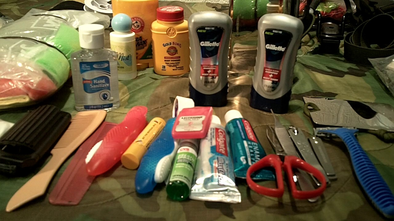 Bug out bag hygiene kit (must haves) - YouTube c3f4437547