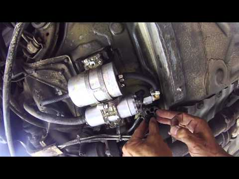 how to replace the fuel filter on a mercedes w202 chass. Black Bedroom Furniture Sets. Home Design Ideas