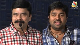 Mirchi Shiva comedy speech about Power Star Srinivasan at Adra Machan Visilu Press Meet