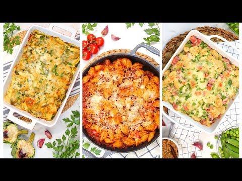 3-baked-pasta-recipes-|-easy-fall-dinner-ideas