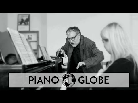 Lesson-clip with Piano Professor Petras Geniusas, Lithuania