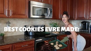 WATCH ME MAKE COOKIES **THE BEST BAKER EVER**