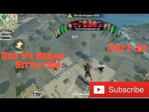Garena Free Fire | Amazing Duo Vs Squad Situation | BOOYAH |