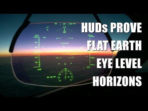 Real Pilots Know Flat Earth Horizon is Always Eye Level thumbnail