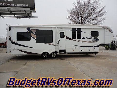 Residential Luxury That Is Sure To Excite And Impress! 2010 Alpine 3500RE