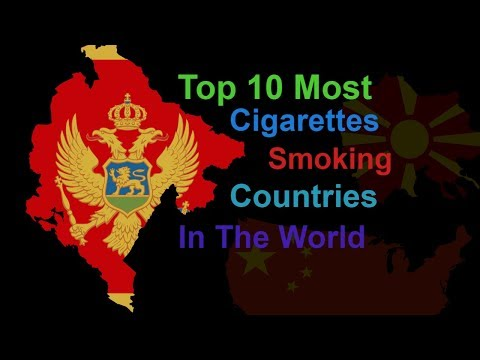 Top 10 Most Cigarette Smoking Countries In The World