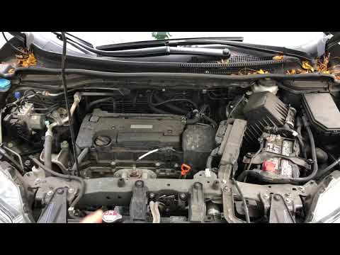 ADDING WINDSHIELD WASHER FLUID Honda CR-V - HOW TO