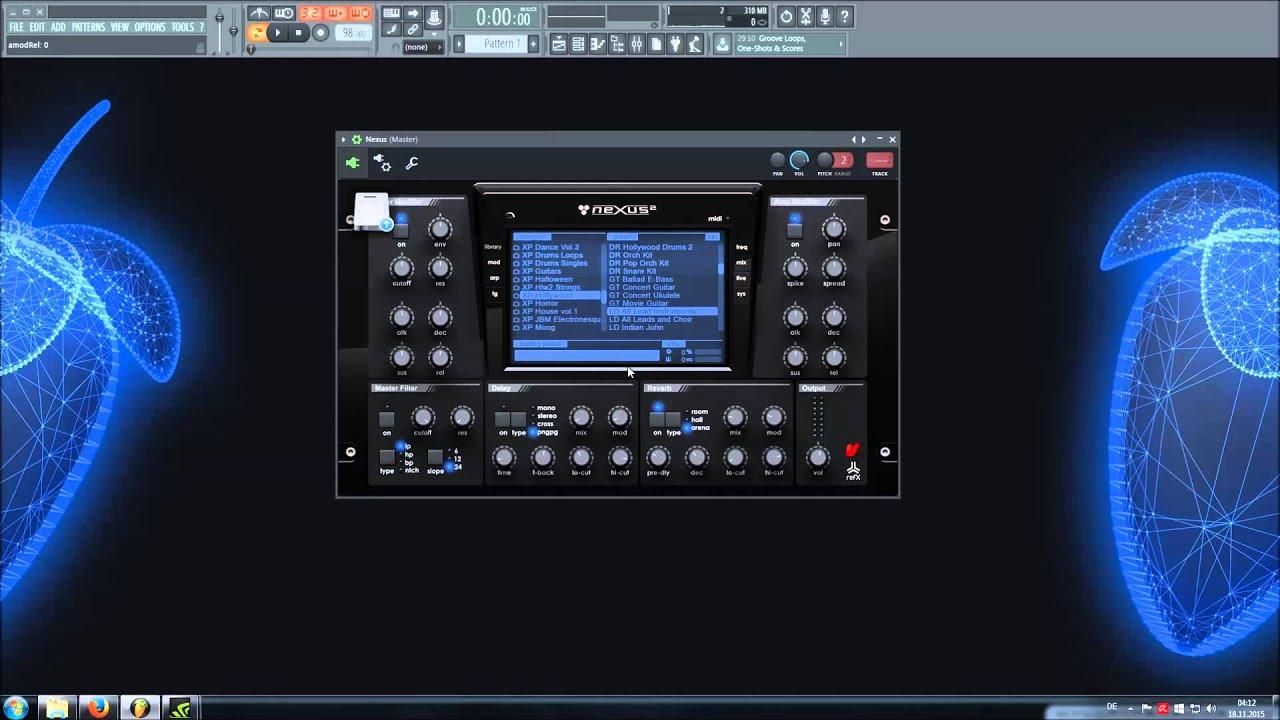 nexus soundbank