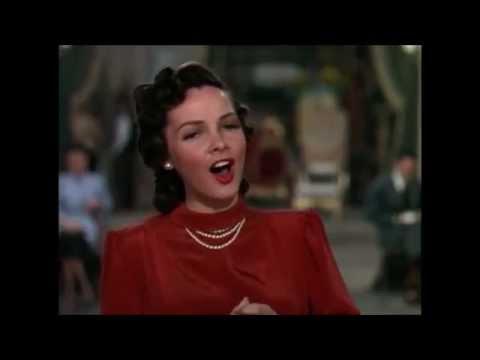 Kathryn Grayson sings The Russian Nightingale