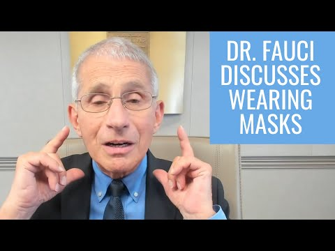 Why Weren't We Wearing Masks From the Beginning? Dr. Anthony Fauci Explains