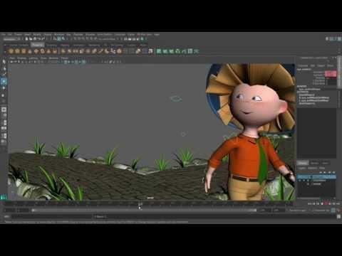 Создание 3-D мультфильмов в программе MAYA. Урок 5. Снимаем первый эпизод