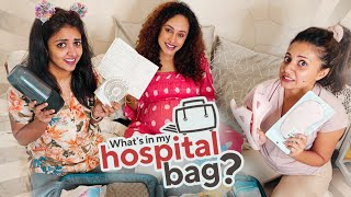 What's In My Hospital Bag? Pearle Maaney Ft. Rachel Maaney | Shradha Davis