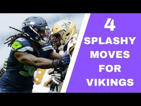 4 Splashy Moves Vikings Can Still Make! We've Got NFL Rumors, Minnesota Vikings Talk On Purple Daily