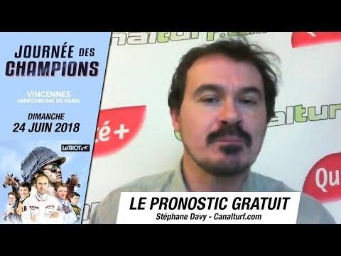 emission video des courses turf pmu du Dimanche 24 juin 2018