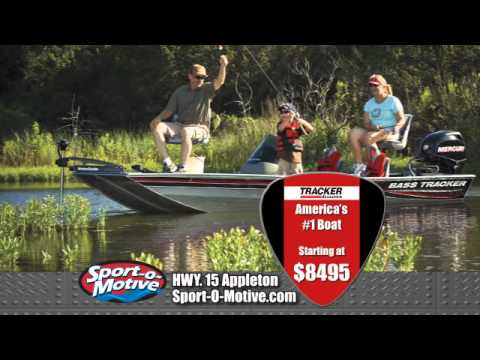 Sport-O-Motive Tracker Boat Show!