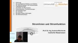 Hydrodynamik 4: Stromlinien und Stromfunktion