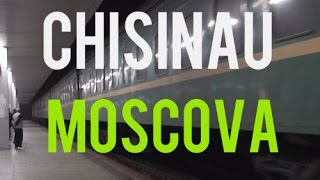 No comment. Gara din Chisinau. Miez de noapte. Trenul Chisinau-Moscova.