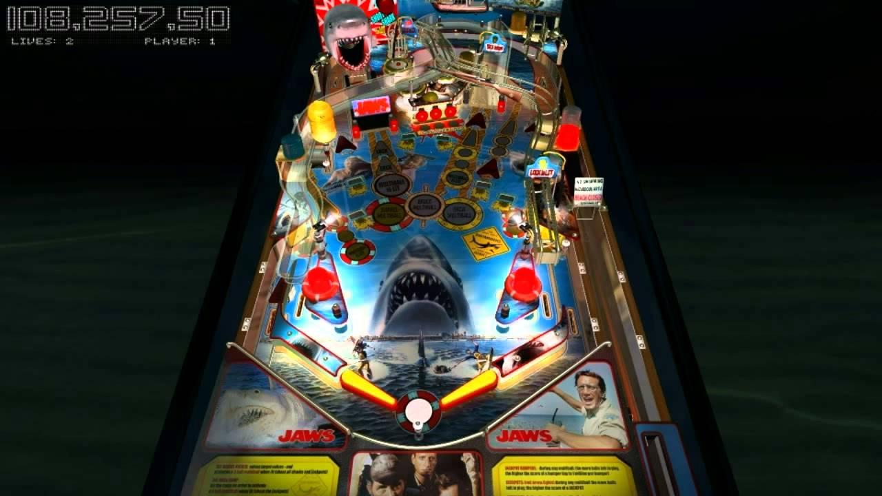 jaws pinball machine