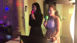 เป็นครั้งแรกน้องแอมเบอร์ฝึกร้องเพลงคาราโอเกะเป็นภาษาอังกฤษค่ะ!!!