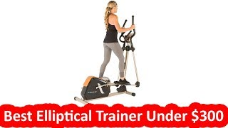 Best Elliptical Trainer Under $300: Exerpeutic GOLD 2000XLST