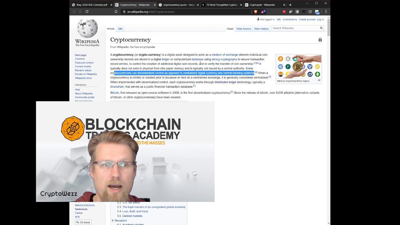 cryptocurrency wikipedia indonesia