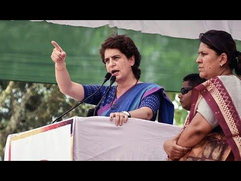 Priyanka Gandhi Addresses Rally in Khushinagar