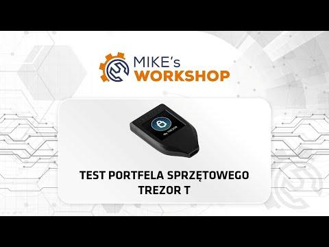 Instalacja i test portfela sprzętowego - Trezor T - praktyczny poradnik i instrukcja obsługi