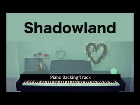 Shadowland: LION KING (Piano accompaniment / Backing / Karaoke track)