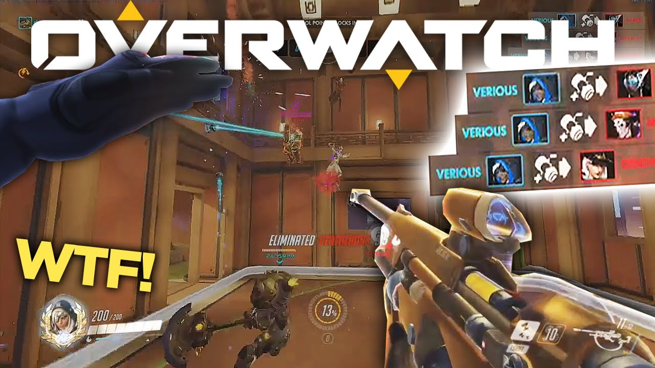 Overwatch MOST VIEWED Twitch Clips of The Week! #98