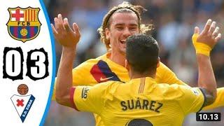 Barselona VS Eibair 3-0 Highlights & All Goals 19/10/2019 Full HD
