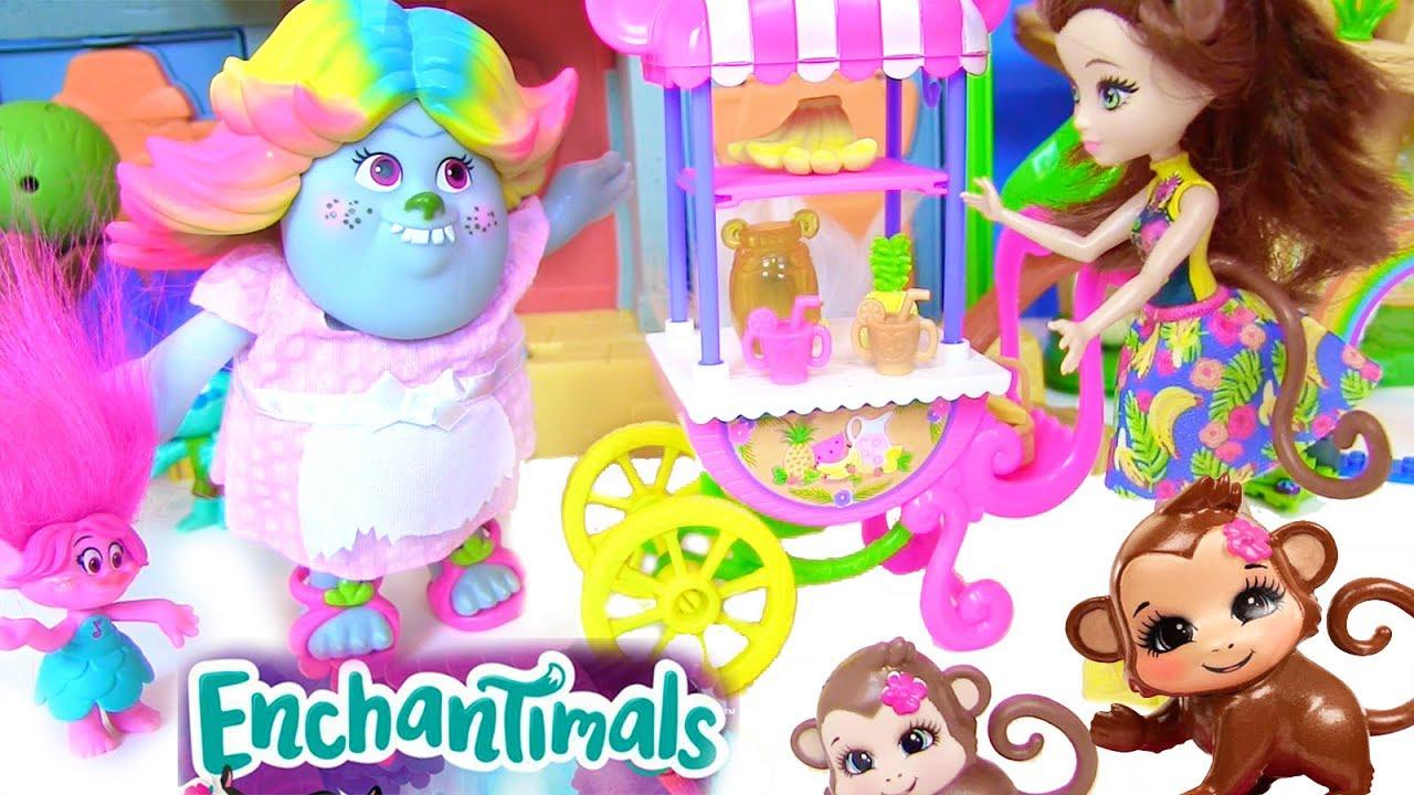Видео для детей про троллей