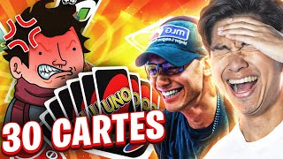 IL PIOCHE 30 CARTES ! 😂 - UNO (ft. Wankil Studio & Locklear)