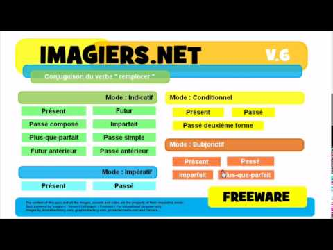 French For Kids Conjugaison Remplacer Youtube