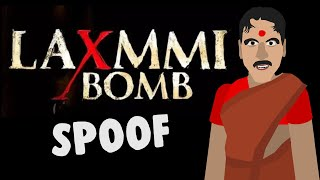 Laxmi bomb Trailer spoof | Jags animation