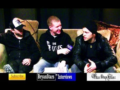 Three Days Grace Interview Breaking Benjamin Tour 2010