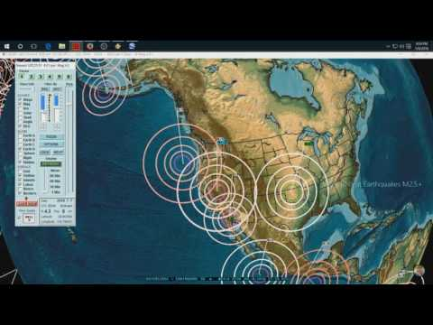 7/08/2016 -- West Coast and Midwest Earthquake Unrest -- East coast on watch