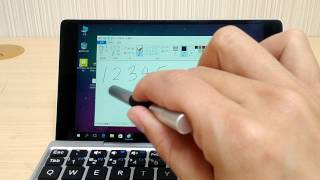GPD Pocket - 使用觸控筆寫字