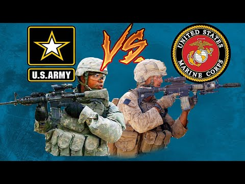 Top 3 differences between Army and Marine Corps